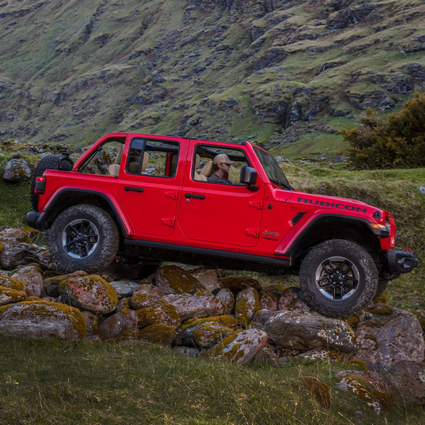 2020 Jeep Wrangler Trail Rated Capability