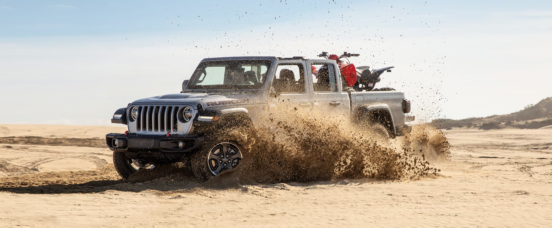 2021 Jeep Gladiator Capability 4x4 Truck Performance