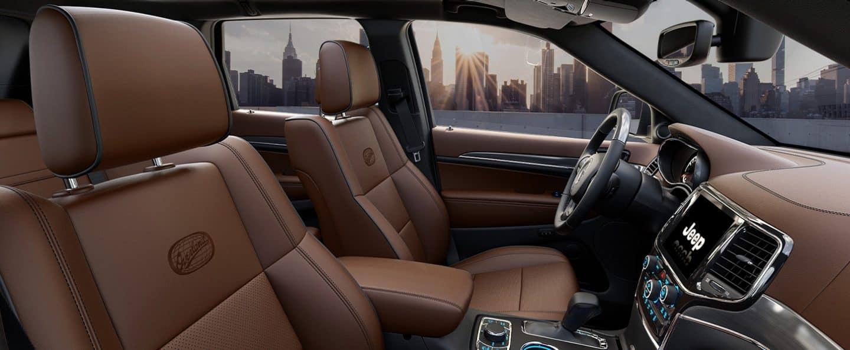 2021 Jeep Grand Cherokee Luxury Suv Interior