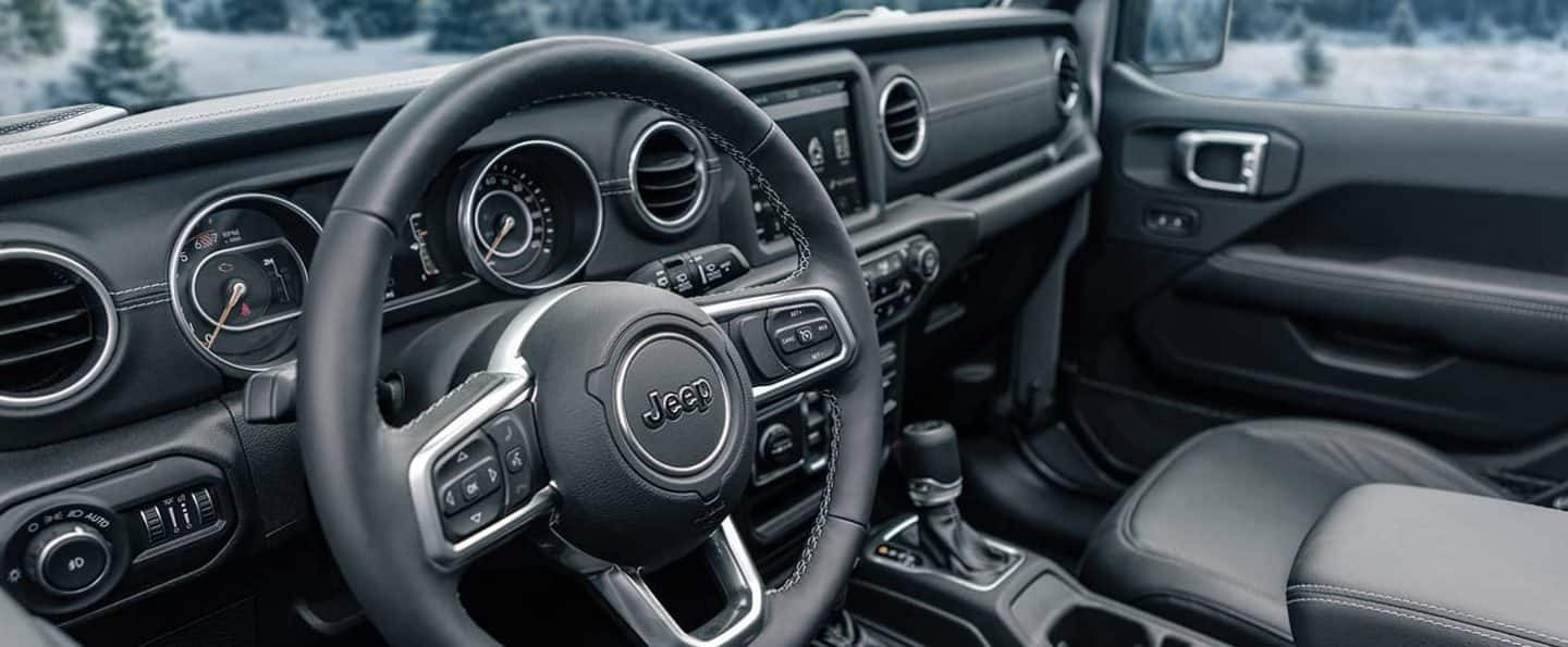 2021 Jeep Wrangler Interior Available Heated Seats More