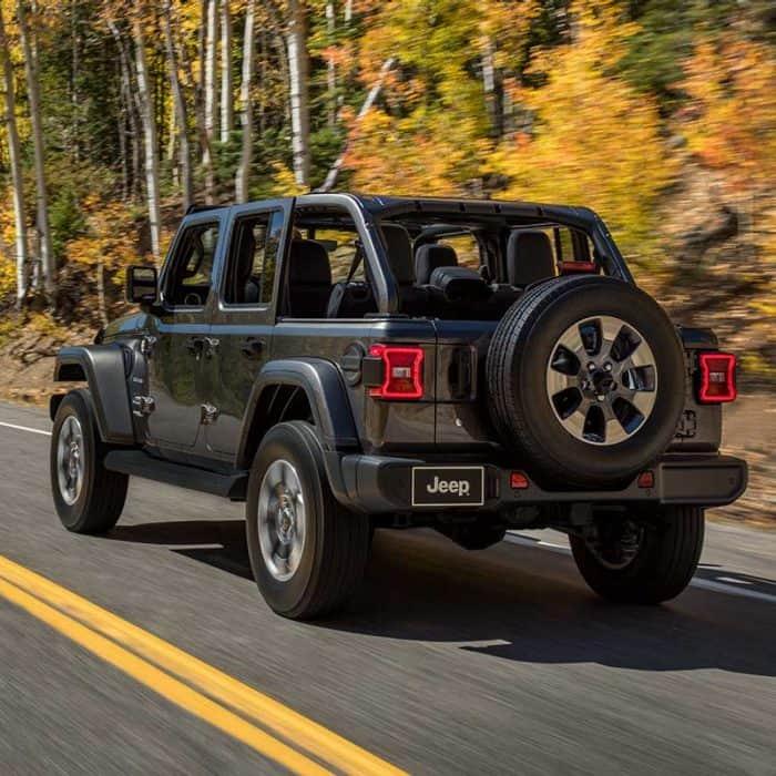 2021 Jeep Wrangler Midsize Suv With 4x4 Capability