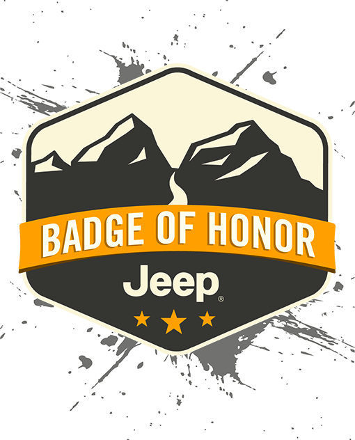Jeep ® Off-Roading - Badge of Honor
