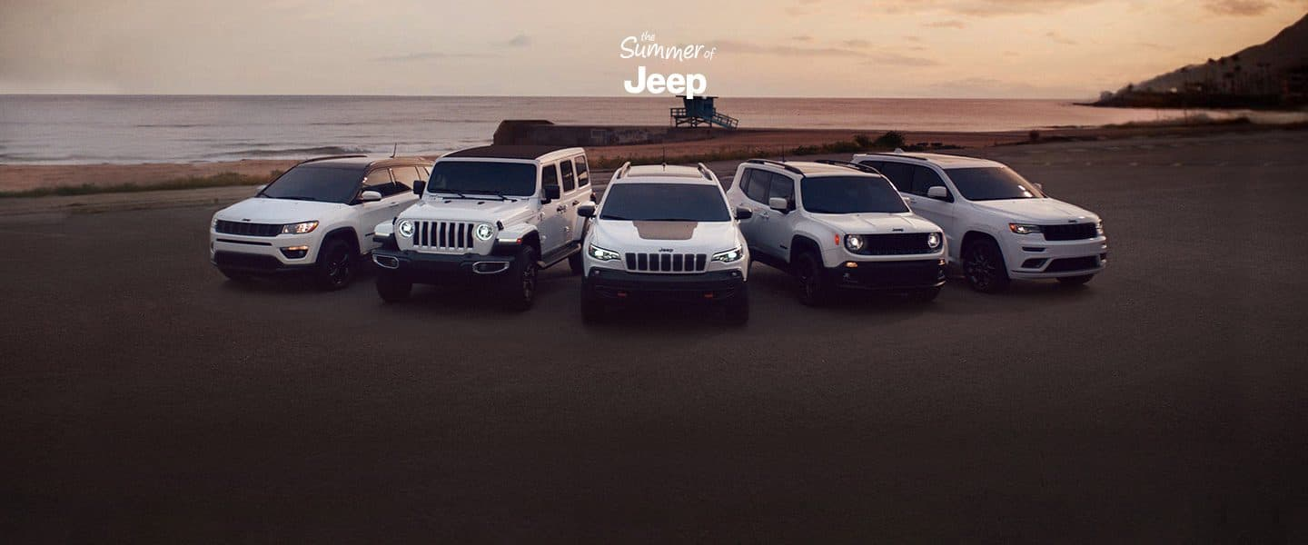 Jeep suvs crossovers official jeep site summer of jeep official vehicles of summer fandeluxe Images