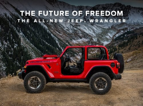 The All-New Jeep Wrangler is Coming Soon