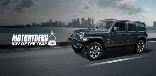 Wrangler MT SUV of the Year