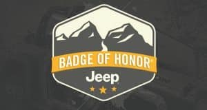 JEEP® BADGE OF HONOR