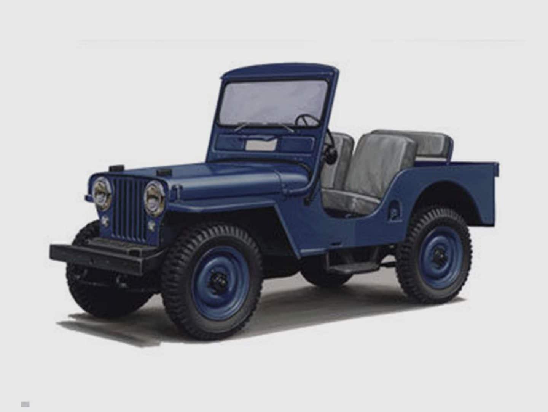 Jeep History Jeep CJ 3A