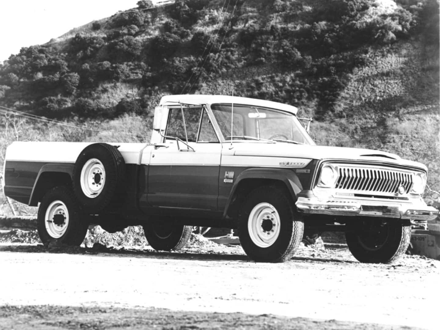 Jeep history in the 1960s jeep history jeep j 4000 series pickup sj publicscrutiny Image collections