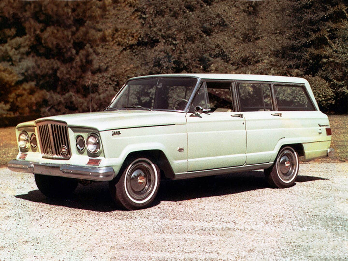 Jeep history in the 1960s jeep history wagoneer sj publicscrutiny Image collections