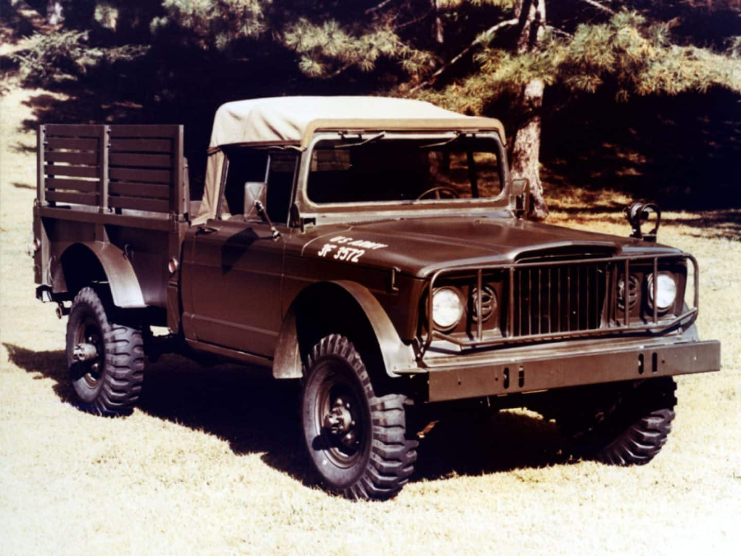 Jeep history in the 1960s jeep history m 715 publicscrutiny Image collections