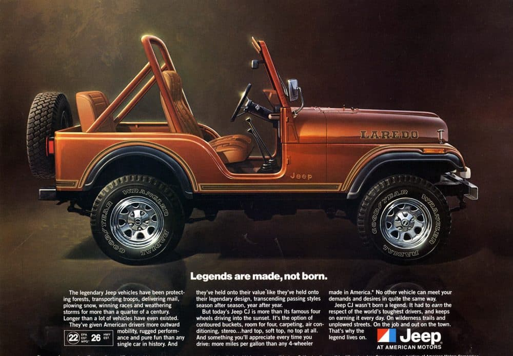 Jeep CJ-5 Laredo [With Download] Minecraft Map