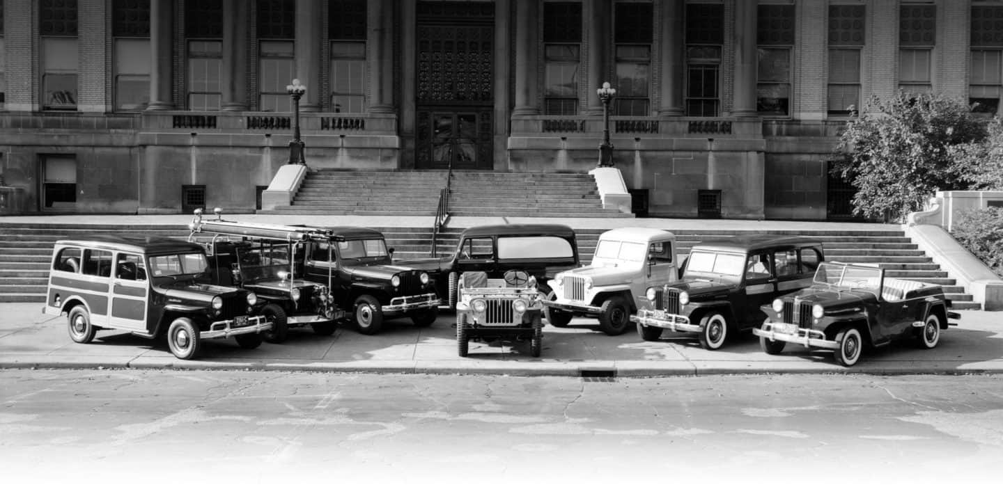 Jeep History Vehicles