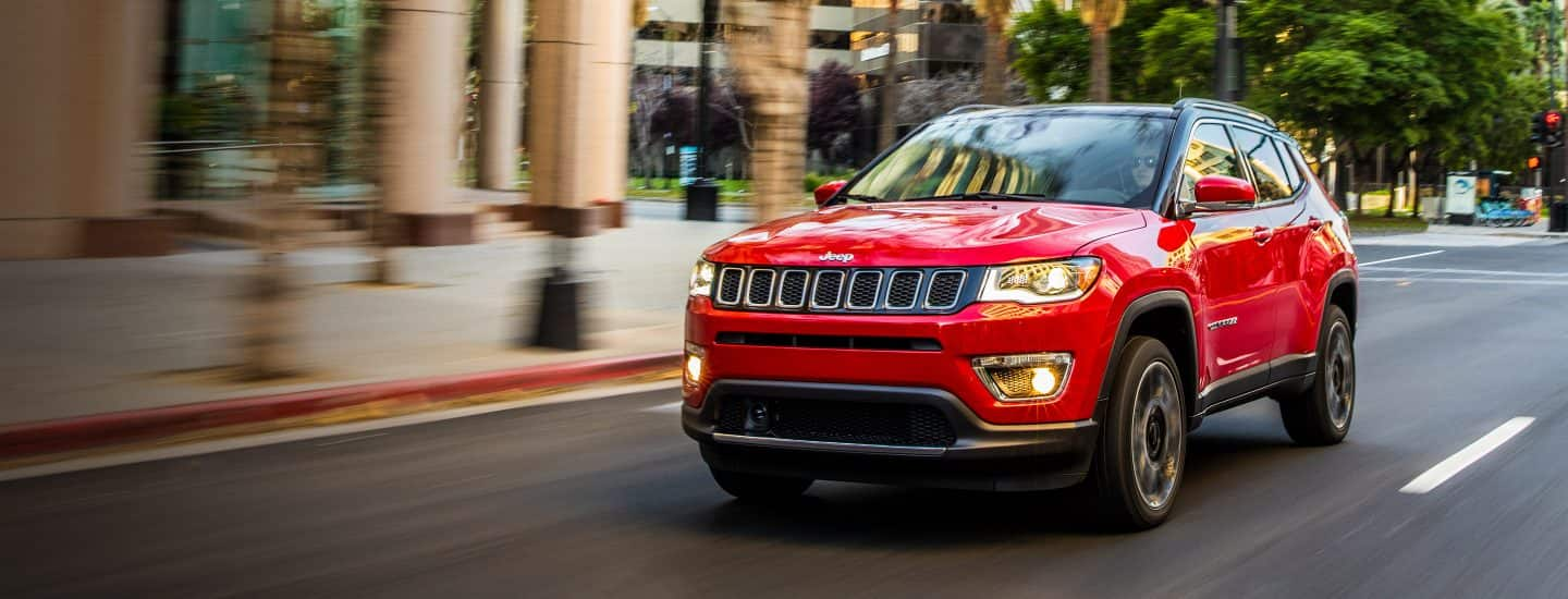 Jeep® Fuel Efficient SUV Comparison Chart
