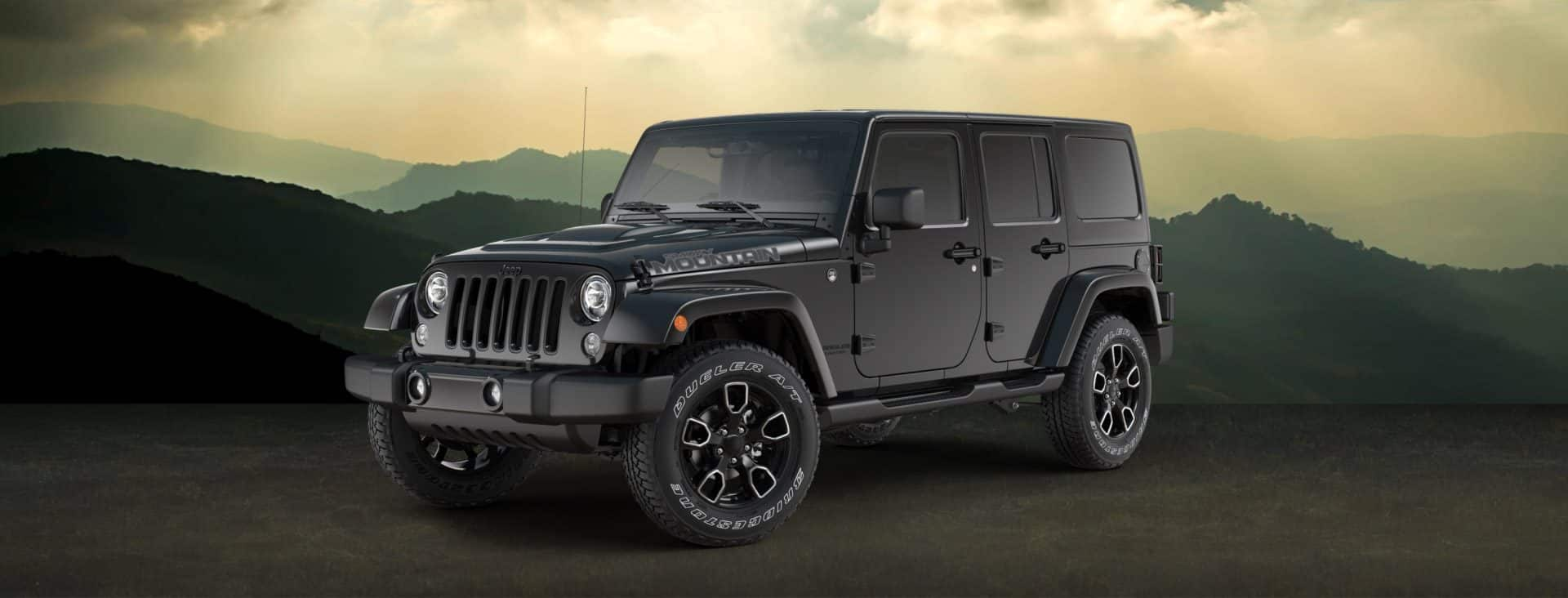 2017 jeep wrangler and wrangler unlimited smoky mountain