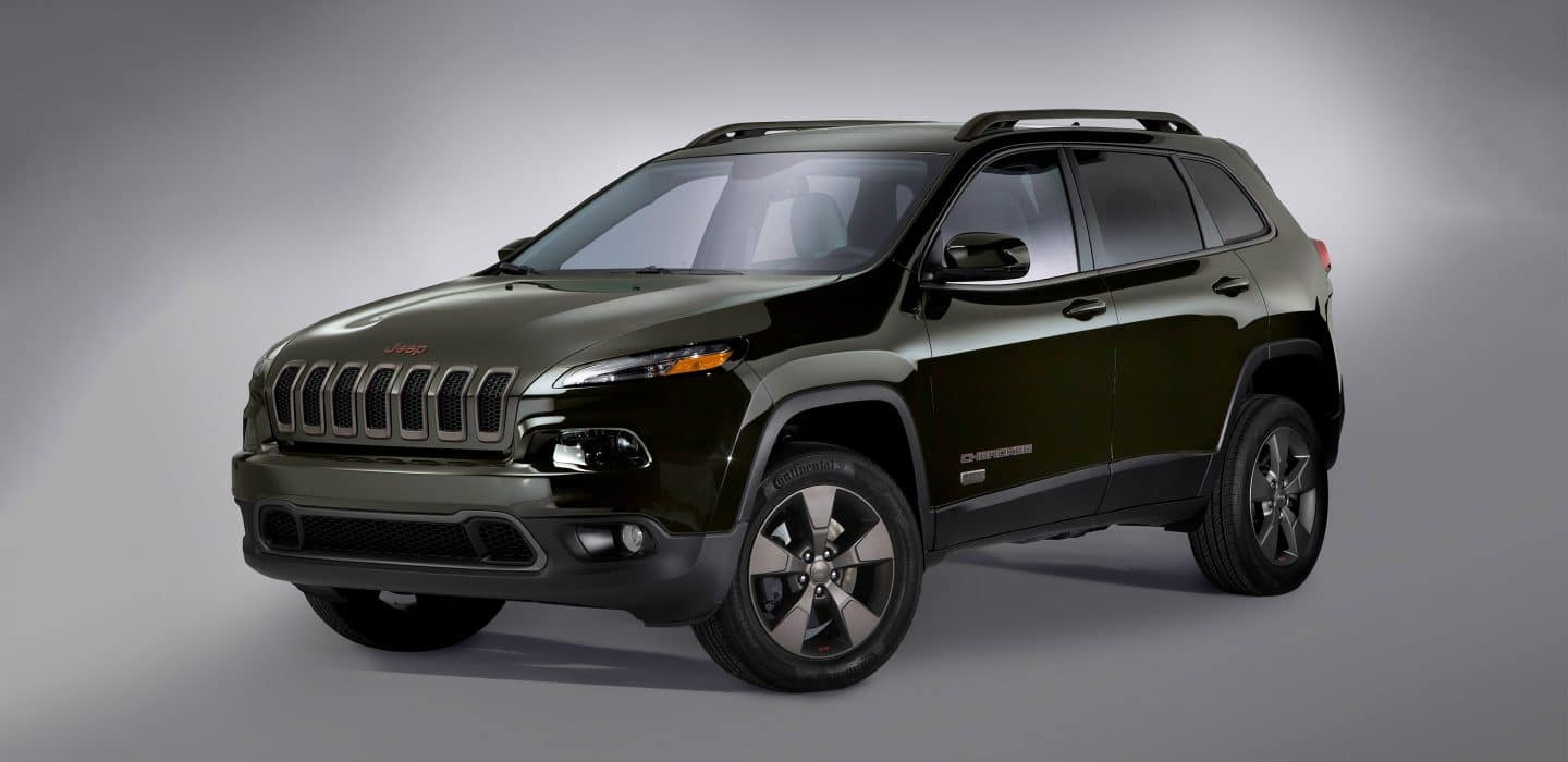 2017 Jeep Cherokee 75th Anniversary Edition Front View