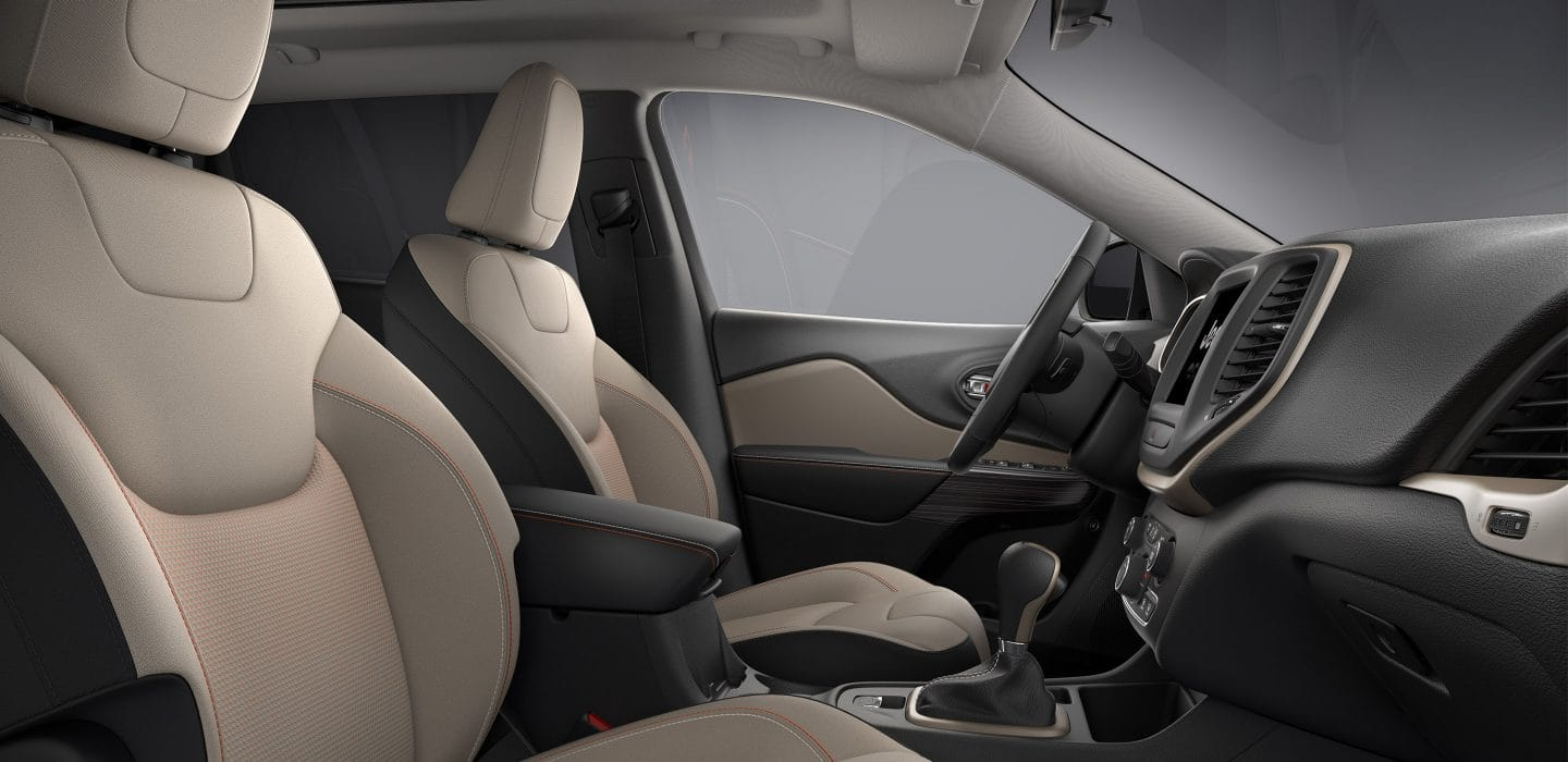 2017 Jeep Cherokee 75th Anniversary Edition Front Seats
