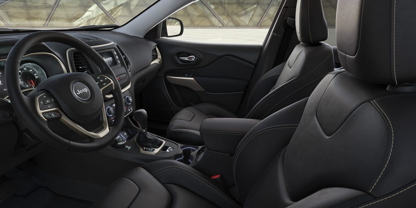 2017 Jeep Cherokee High Altitude Front Seats