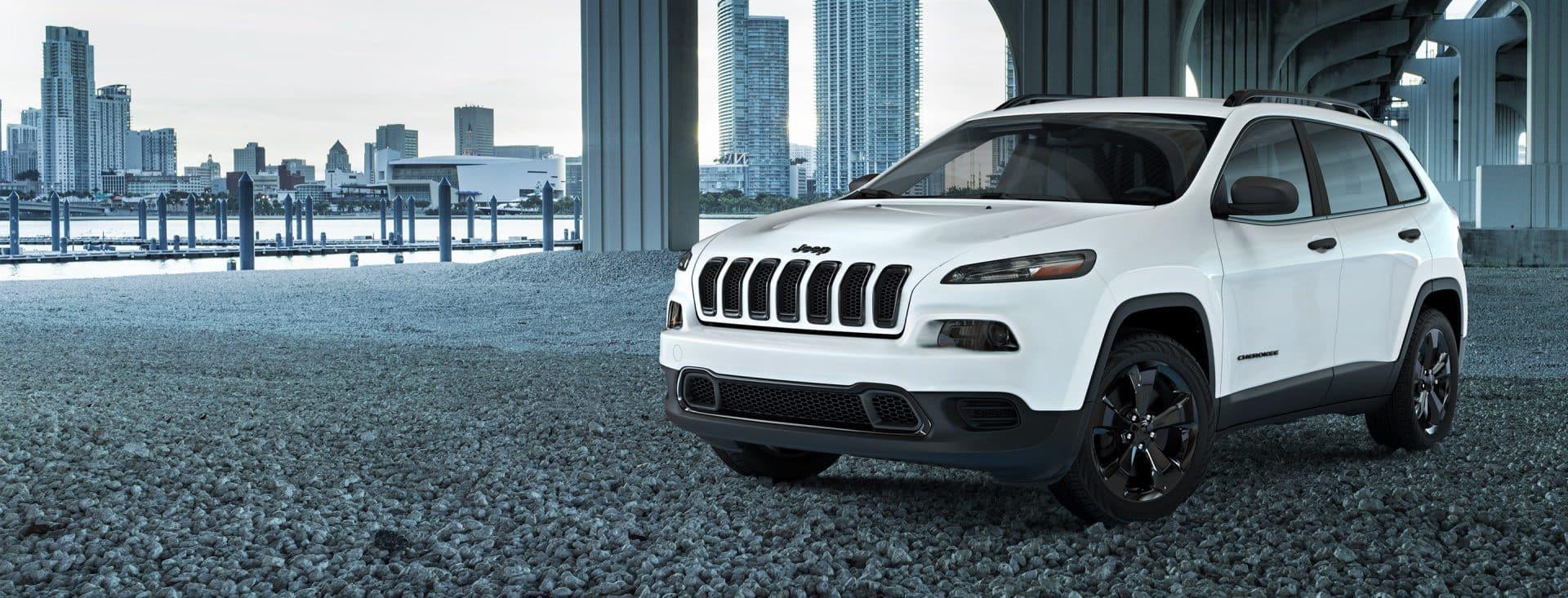 2017 Jeep Cherokee Sport Altitude Hero