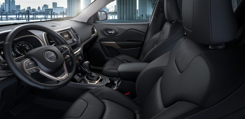 2017 Jeep Cherokee Sport Altitude Front Seats