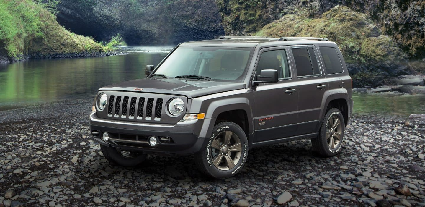 2017 Jeep Patriot 75th Anniversary Edition Exterior Front Side View