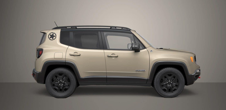 2017 Jeep Renegade Desert Hawk Limited Edition