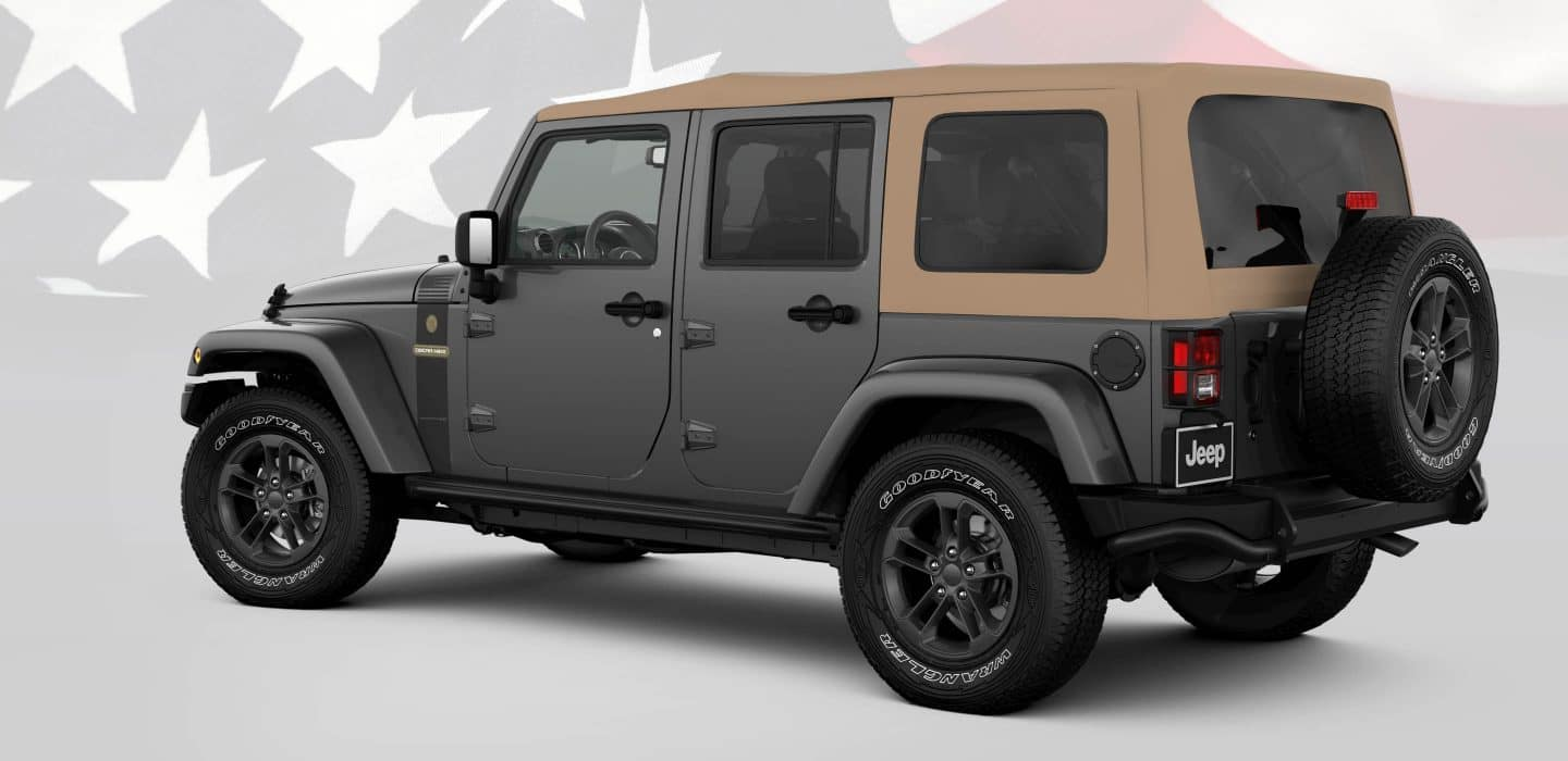 2018 Jeep Wrangler JK Freedom Tan Top Thumbnail