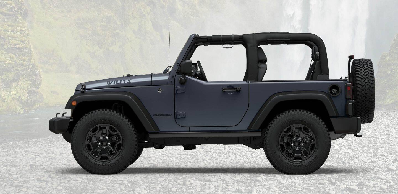 2018 Jeep Wrangler Jk Willys Wheeler Limited Edition Suv Rear Seat Doors
