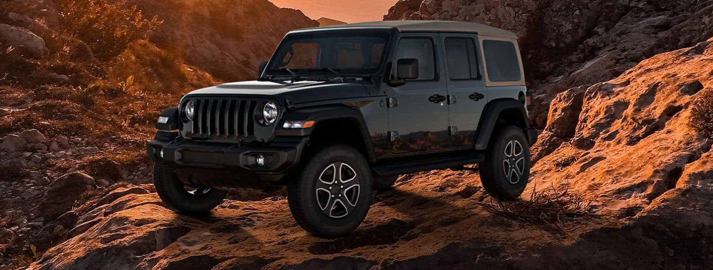 All Black Jeep Wrangler 2020