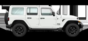 2020 Jeep Sahara Altitude White