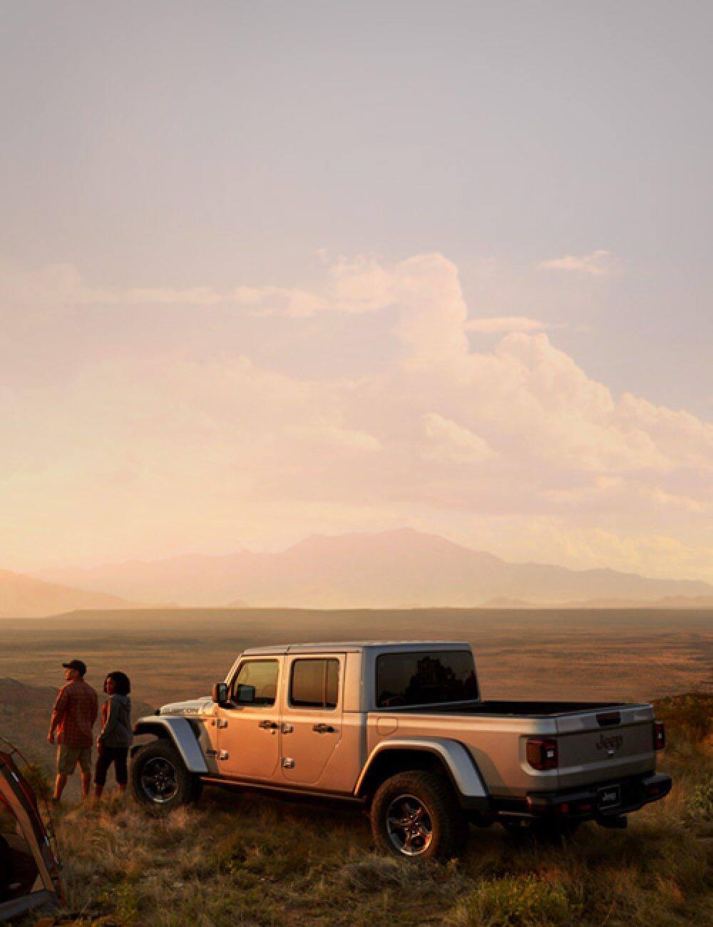 All New 2020 Jeep Gladiator Midsize Pickup Truck