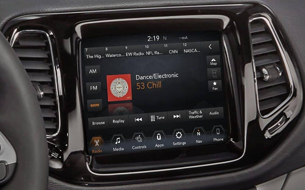 Uconnect - Jeep Uconnect System Entertaint Features