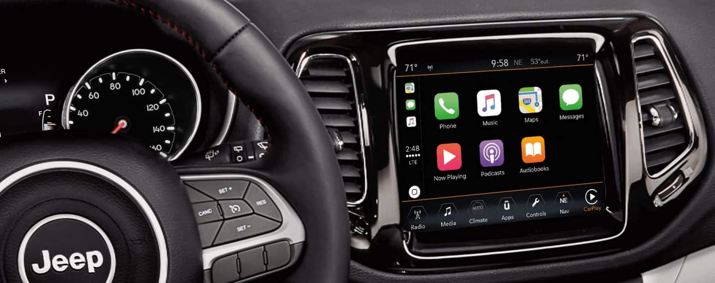 Jeep Uconnect Apple Carplay Support