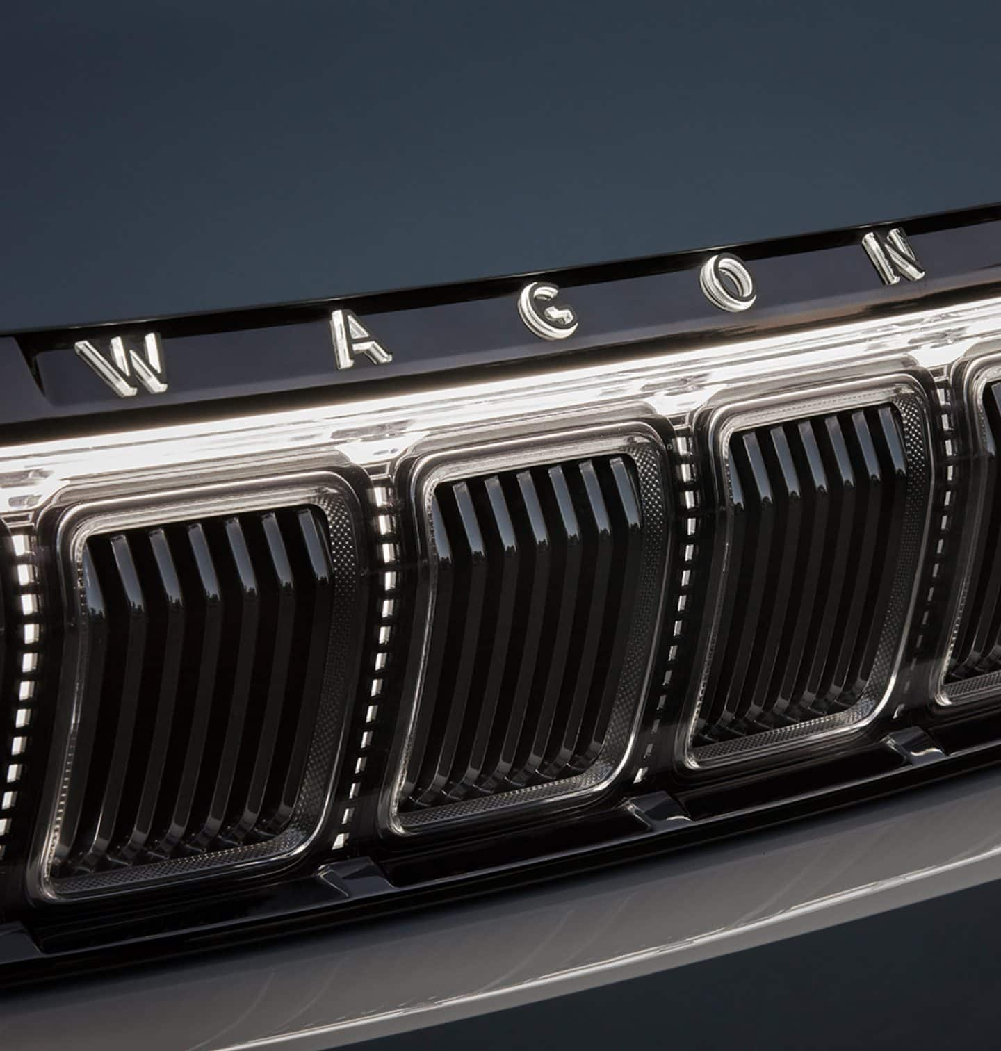 Close Up Exterior view of the Jeep Grand Cherokee