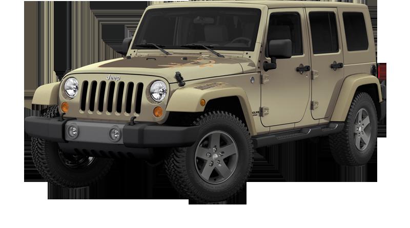 Jeep wrangler mojave edition