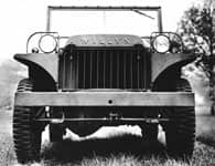 Front grille of 1941 Willys MA. Photo Courtesy of U.S. Army.