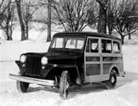 1949 Willys-Overland Jeep Station Wagon.