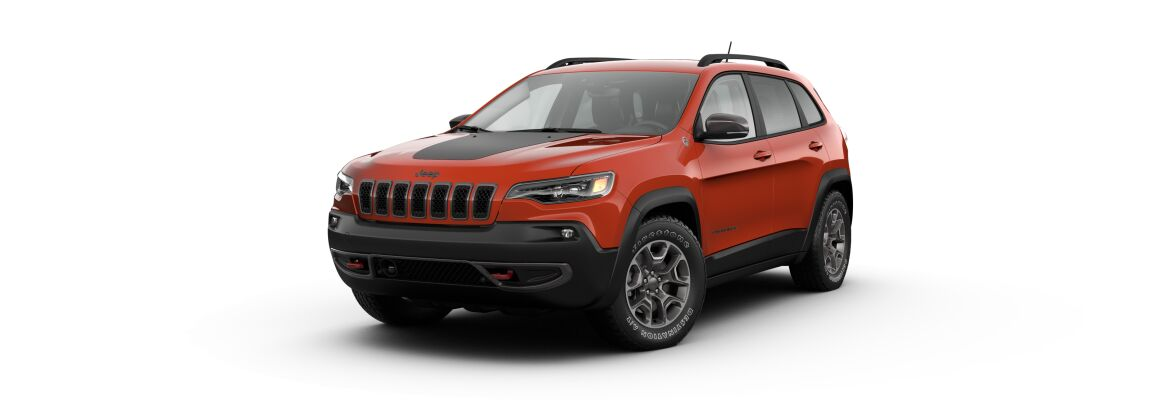 The 2021 Jeep Cherokee Trailhawk