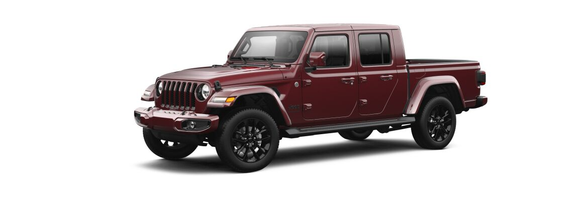 The 2021 Jeep Gladiator High Altitude