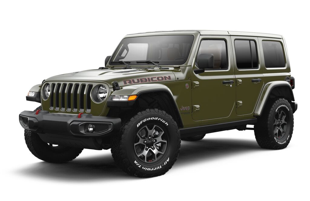 New 2021 JEEP Wrangler Unlimited Rubicon