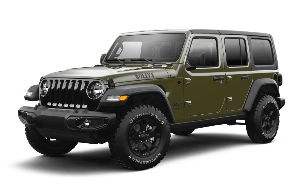 New 2021 JEEP Wrangler Unlimited Willys Sport