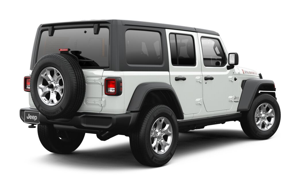 New 2021 JEEP Wrangler Islander Unlimited 4x4