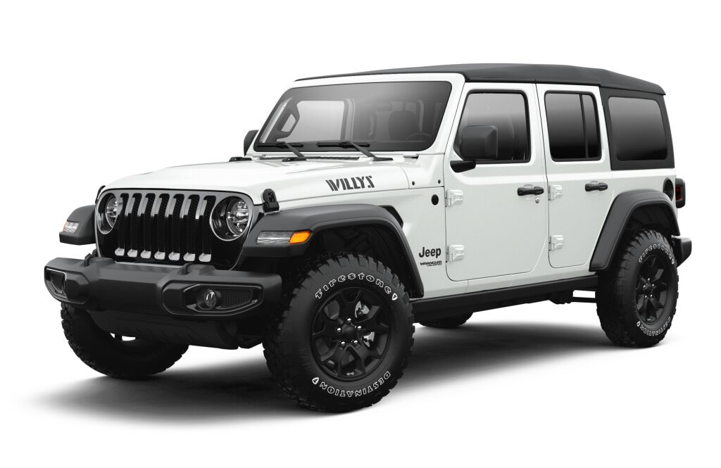New 2021 JEEP Wrangler Unlimited Willys