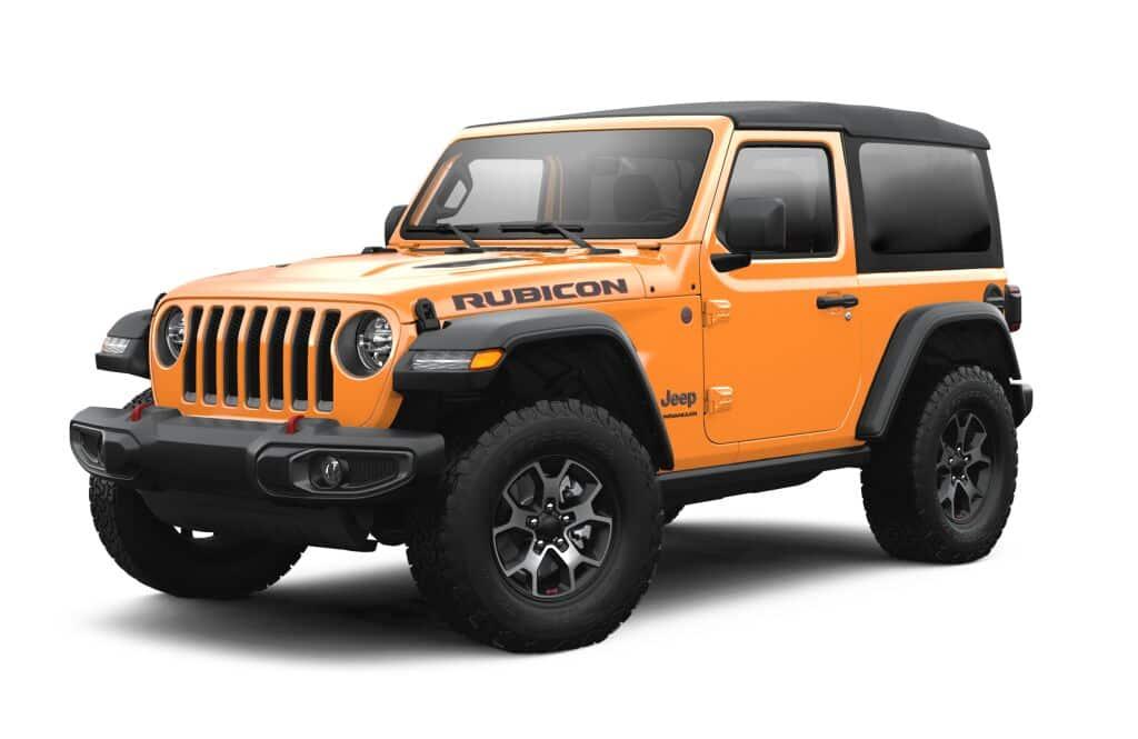 New 2021 Jeep Wrangler Rubicon