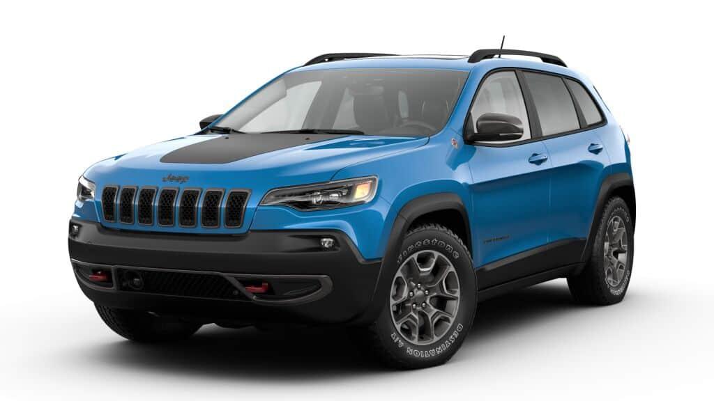 New 2021 JEEP Cherokee Trailhawk